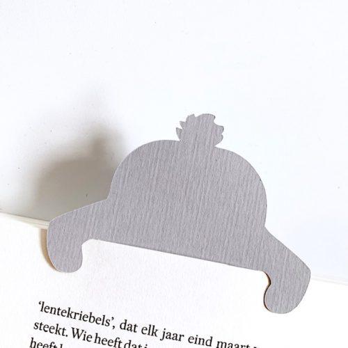 dit konijn duikt je boek al in, het staartje wijst je waar je bent gebleven