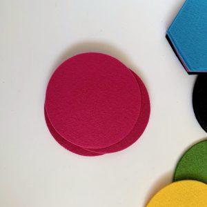 mix & match ronde onderzetters in veel vrolijke kleuren