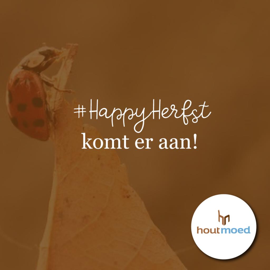#HappyHerfst komt er aan! Vanaf 1 oktober is het weer tijd voor een #HappyHerfst Instagram challenge