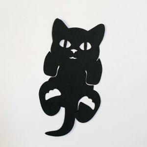 boekenlegger kitten zwart